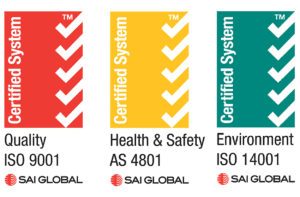 s360 Quality ISO 9001, Health and Safety AS 4801, Environment ISO 14001 Certified